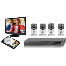 Kit CCTV IP Wireless